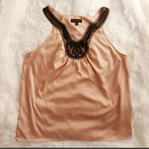 The Limited Womens Sleeveless Beaded Top